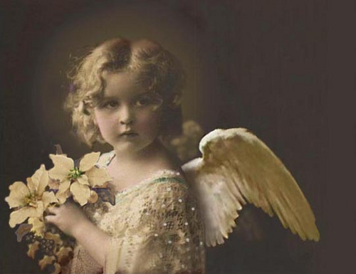 Image result for an angel-vintage