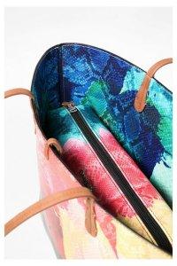 Desigual Capri Aquarelle bag, showing the smaller bag inside.