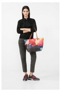 Desigual Capri Aquarelle bag. $125.95. Spring-Summer 2017.