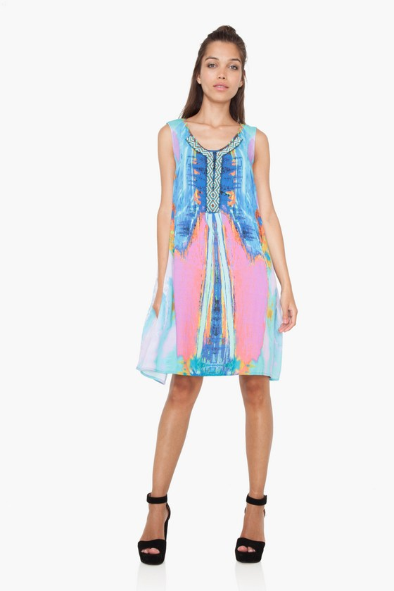 Desigual MADRID dress. $189.95. Spring-Summer 2017 collection, Global Traveller.