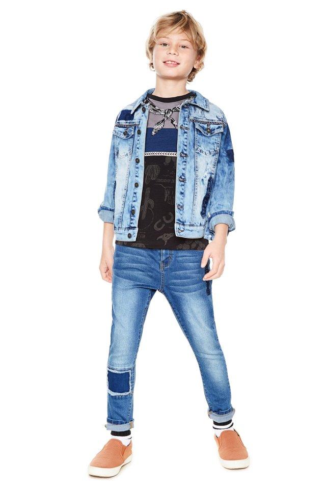 Desigual kids XAVIER denim jacket. $149.95. SS2018.