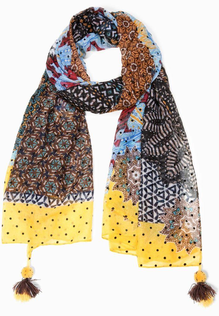 nuovi stili c4524 7d2af Desigual.AFRO.scarf.foulard.$65.95.FW2018.18WAWW04-B ...