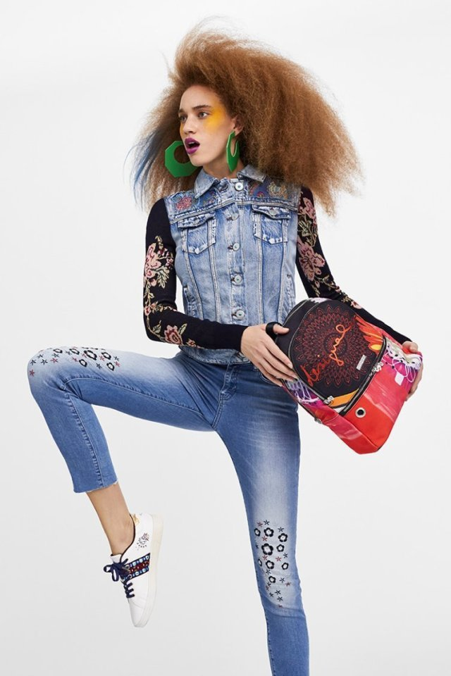 Desigual POPPY FLOWER backpack. Was $125.95, now $75.57.
