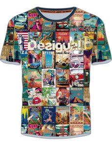 Desigual ERENESTO postcard T-shirt. $105.95.