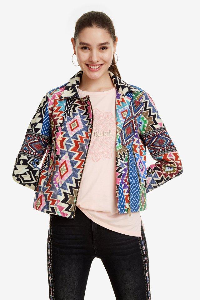 eb8bab0d59 Desigual MALAWI cotton jacket. Was $309.95, now $216.95 (30% off). SS2019.