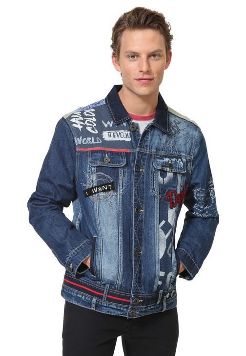 Desigual MARZO denim jacket. $255.95.