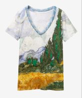Desigual VAN GOGH T-shirt. $75.95. SS2019.