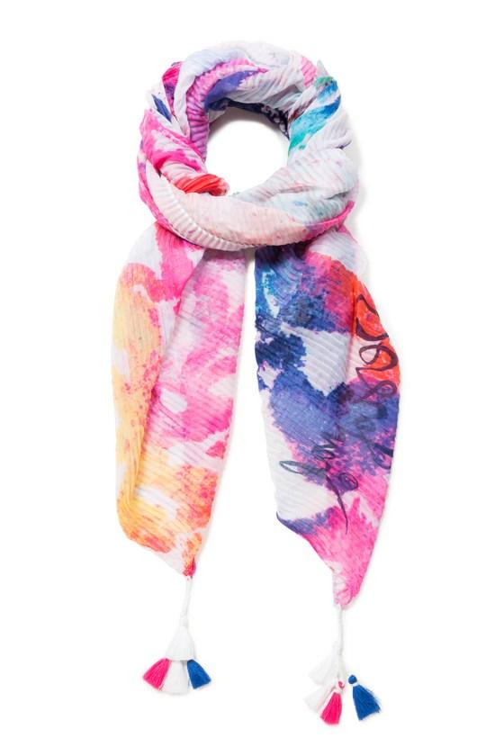 d91012f23fa30 Desigual.WATER.MANDALA.scarf.foulard.$75.95.SS2019.19SAWF87 ...