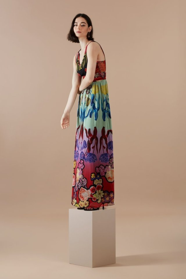 Desigual CLAVELITOS maxi dress by Christian Lacroix.