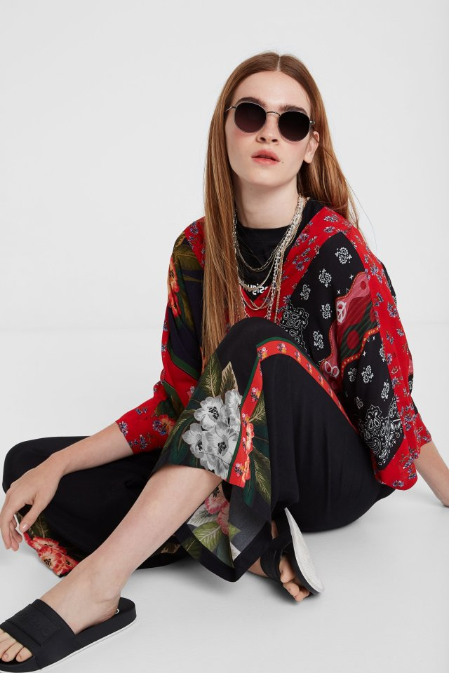 Desigual AMELIE palazzo trousers