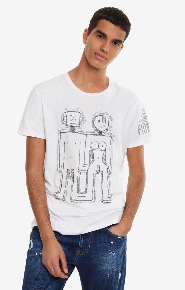 Desigual CEDRIC T-shirt. $75.95. SS2019.