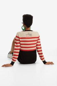 Desigual DALLAS striped sweater FW2019.