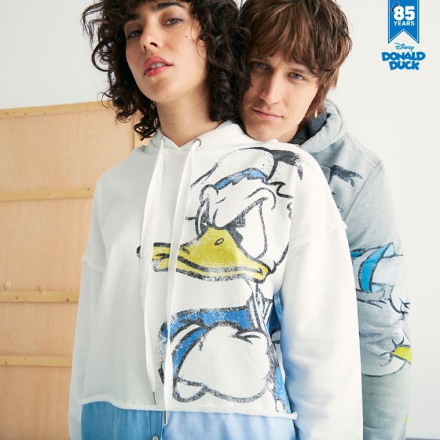 Desigual DONALD DUCK 85th birthday sweatshirt for men. $169.95. FW2019.