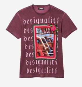 Desigual EDISON T-shirt. $105.95. FW2019.