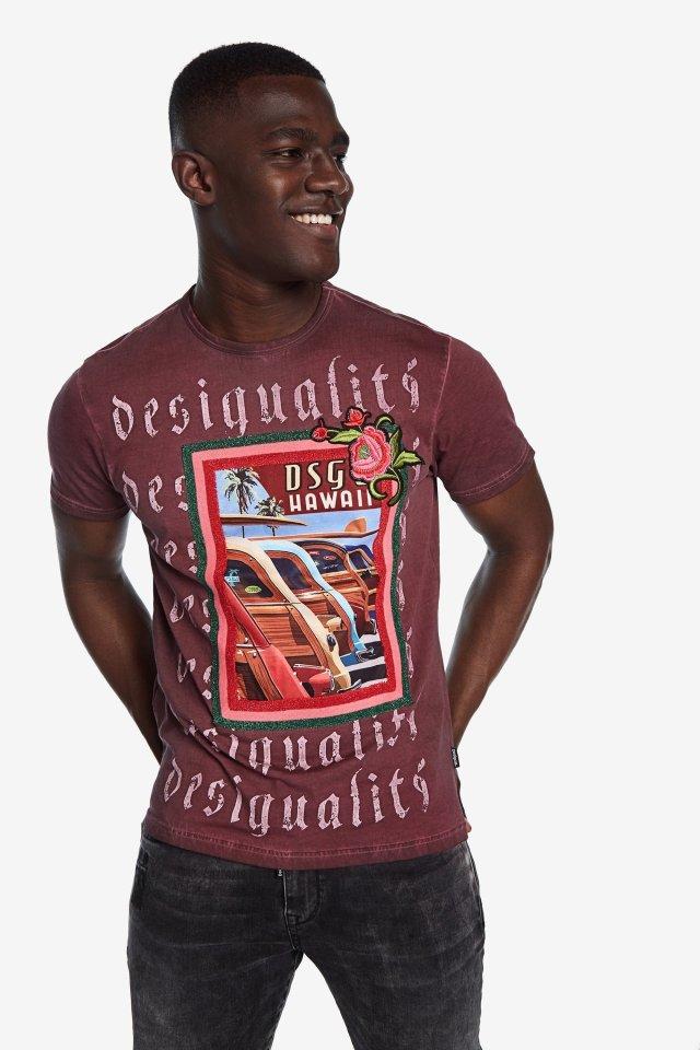 Desigual EDISON T-shirt FW2019.