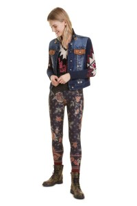 Desigual escocia DENIM JACKET Fall Winter 2019 collection