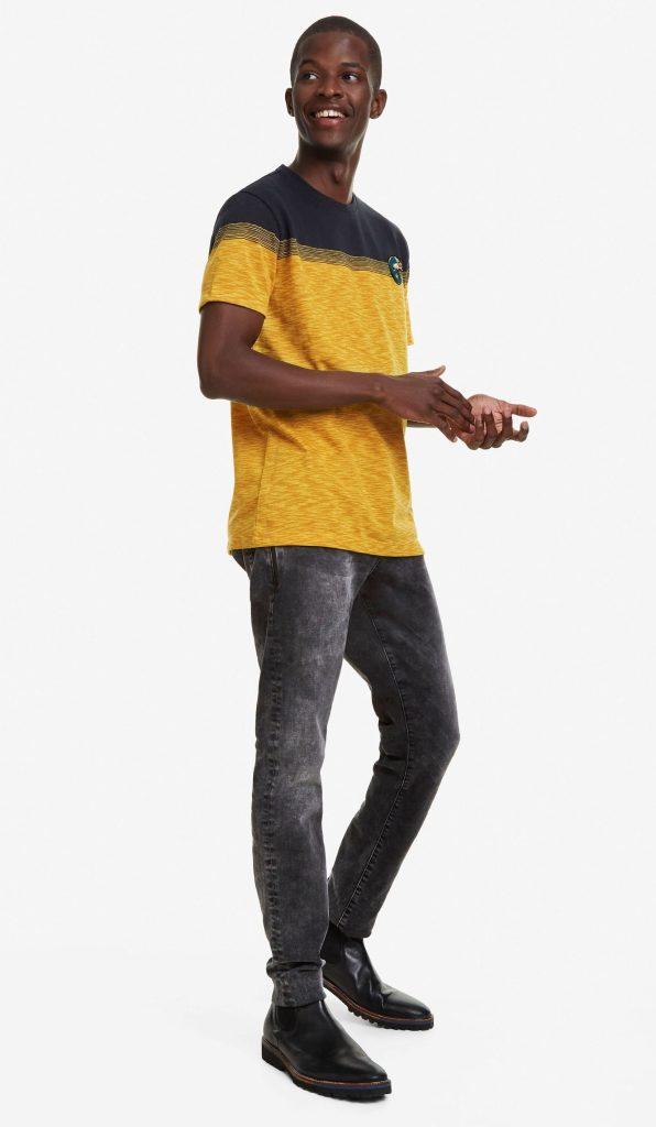 Desigual JULIO T-shirt. $105.95. FW2019.