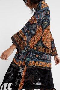 Desigual KIM ethnic tassels kimono FW2019
