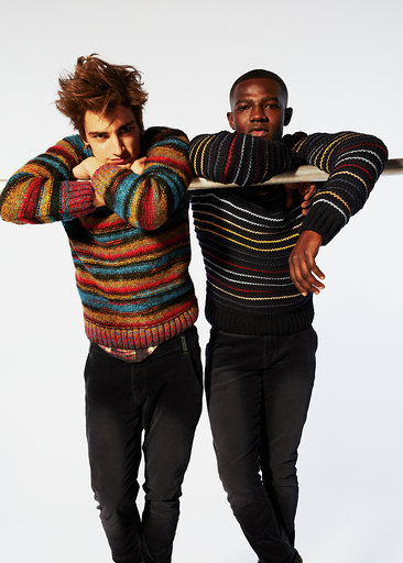 Desigual sweaters for men, Fall-Winter 2019.