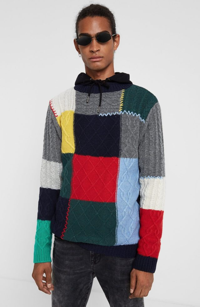Desigual ADOLFO sweater. $189.95. FW2019.
