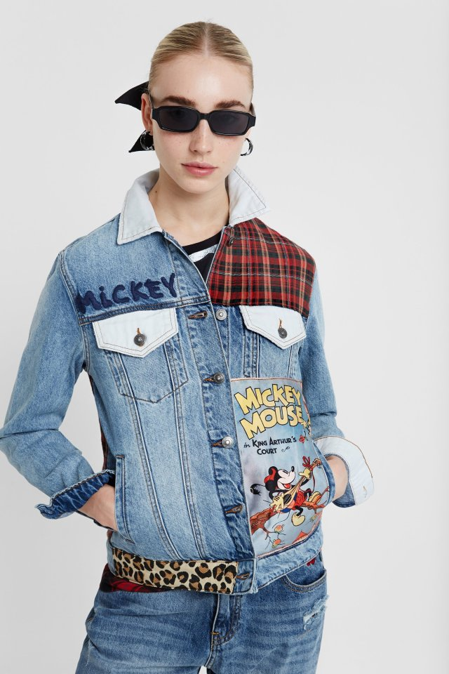 Desigual MICKEY MOUSE denim jacket FW2019