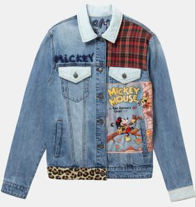 Desigual MICKEY MOUSE denim jacket