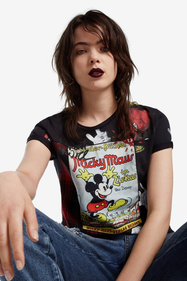 Desigual Mickey Mouse T-shirt Fall-Winter 2019 collection