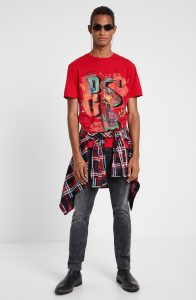 Back of the Desigual NARCISO T-shirt. $65.95. Fall-Winter 2019.