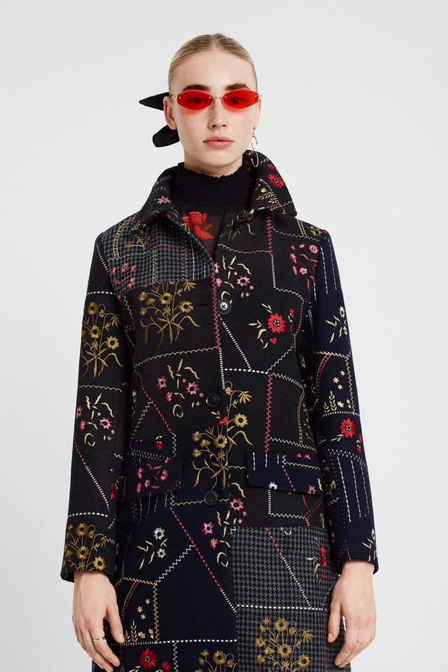 Desigual PENNY coat Fall Winter 2019 collection