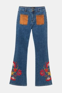 Desigual WEST LONDON boho flared jeans