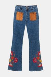 Desigual WEST LONDON boho flared jeans