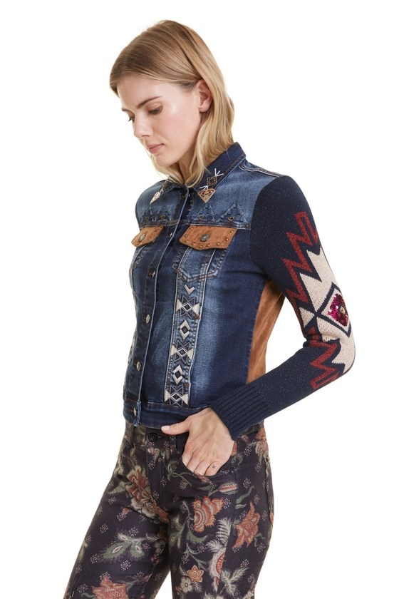 Desigual ESCOCIA denim jacket Fall-Winter 2019