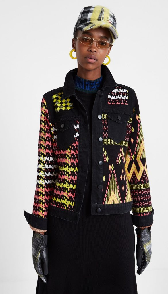 Desigual SHANICE sweater jacket FW2019.