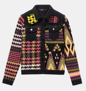 Desigual SHANICE sweater jacket FW2019 Angel has size XS and Medium.