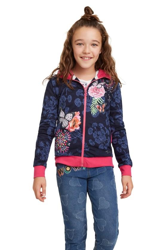 Desigual kids KANSAS reversible hoodie FW2019
