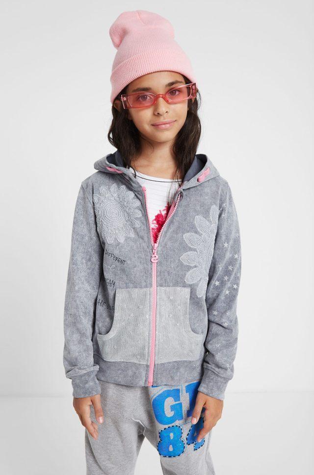 Desigual kids LUISIANA hoodie jacket FW2019