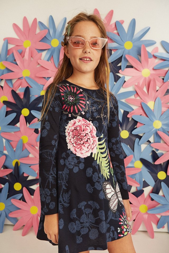 Desigual kids TOLUCA dress. $75.95 FW2019.