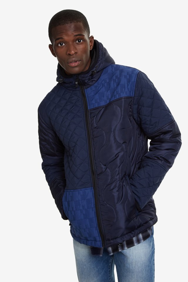 Desigual LOJO padded jacket Fall-Winter 2019 collection for men
