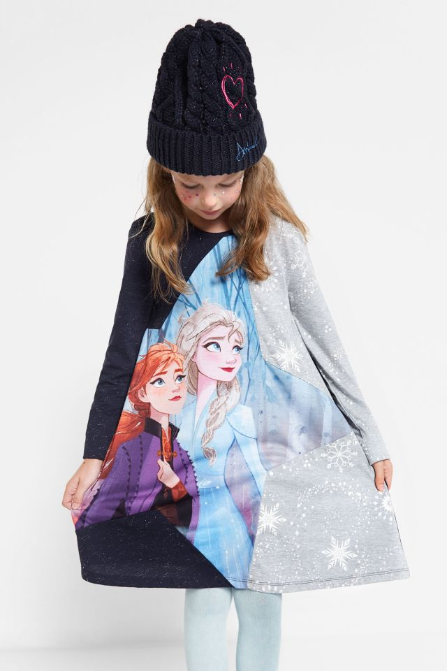 Desigual kids FROZEN 2 Elsa & Anna dress FW2019.