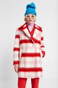 Desigual NORA double-breasted wool coat FW2019