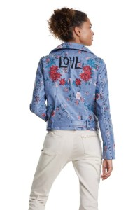 Desigual NASSAU vegan leather jacket SS2020