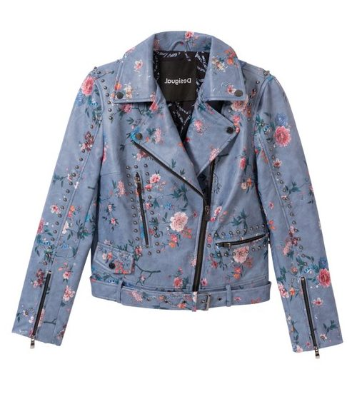 Desigual NASSAU vegan leather jacket Summer 2020 collection