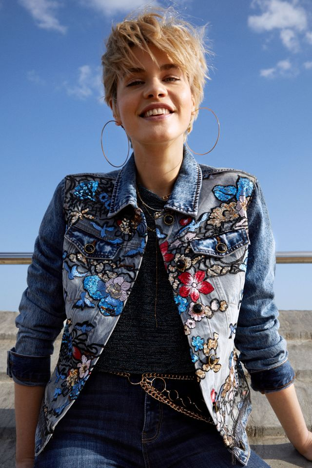 Desigual BROOKLYN denim jacket Spring-Summer 2020 collection