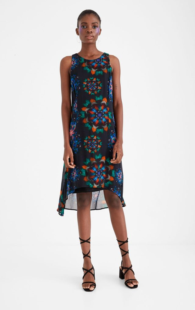 Desigual CLAIR galactic dress SS2020