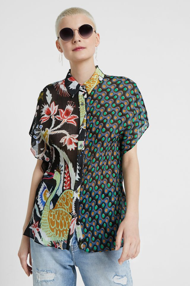 Desigual GLORIA shirt by Christian Lacroix SS2020