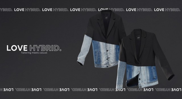 Desigual HYBRID blazer. SS2020.