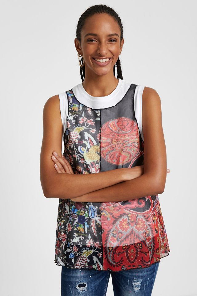 Desigual LAUREN T-shirt by Christian Lacroix SS2020