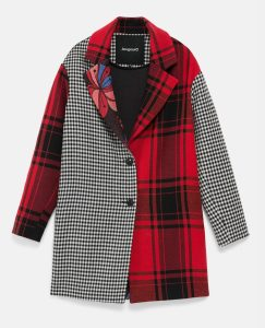 Desigual LONDON patch coat now on sale 40% off Spring-Summer 2020 collection