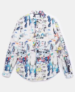 Desigual ARTY CRISPIN cotton shirt Spring-Summer 2020