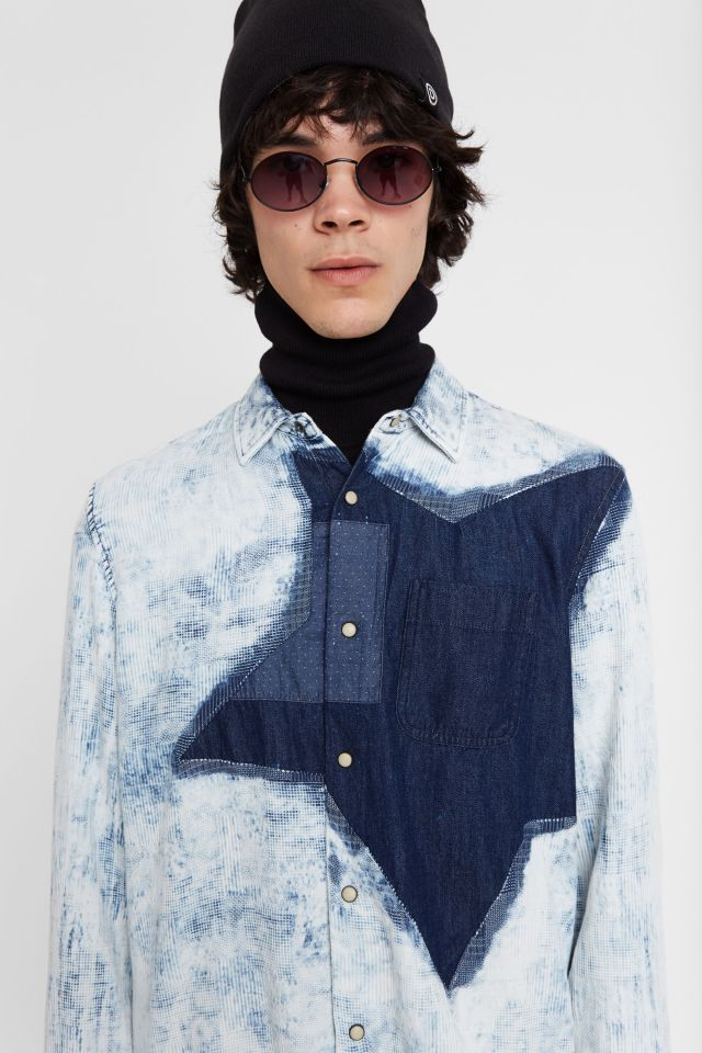 Desigual COLM hybrid star shirt SS2020